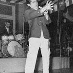 THE RHYTHM STARS 1960 - zanger LUCKY BURGESS (Loeki Burgemeestre) en drummer Jaap Boogaard
