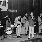 THE BABY ROCKERS (begin 1964) - vlnr: René Waerts, Rein Vreeling, George Loth, Albert Loth, Jacky Kloes en Jan Renken.
