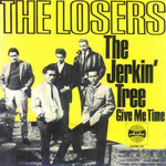 THE LOSERS - 1966 The Jerkin' Tree / Give Me Time (Ariola 19.082 AT) Duitsland