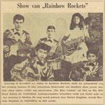 THE RAINBOW ROCKETS (De Vallei 27-12-1962) - vlnr: Tonny van de Bovenkamp, Eddy Deighton, G. van de Weerd, Dorien Deighton en Henneke Deighton