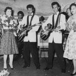 Verloving Reggy Tielman met Ilse Holman - Expo Brussels 1958 -  Hawaiian Village