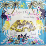Expo 58 Brussel - Hawaiian Village - souvenir