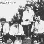 THE MAGIC FOUR vlnr: Tony Koster - Rudy Boelhouwer - Rein Nijp - Bert Koster