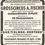 The Four Tielman Brothers met circus Fischer in Kaiserslautern (1959)