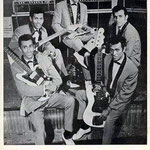 The Tielman Brothers - Promotion picture (Jolly Bar, Hanau 1962)