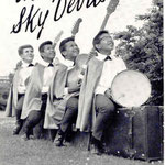 THE SKY DEVILS vlnr: Chris Fronik - Frank v.d. Eeckhout - Roy v.d. Eeckhout - Ferry v.d. Eeckhout