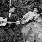 Arthur Valentijn en George Gabriël (zomer 1959)