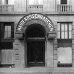 Ingang Plankenkaffee Kossenhaschen in Mannheim