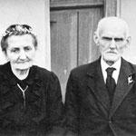 Ehepaar Hoffmann Franz (Wässerschütz) und Frau geb, Schilling