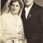 Ehepaar Vogelgesang Eduard und Monika geb. Steinmetz (Uttweiler)