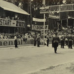 Start-Zielraum des alen Hockenheimrings