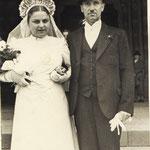 Ehepaar Kästel Friedrich und Mathilde geb. Strauß (aus Lauterecken)