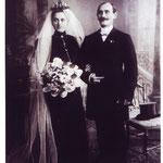 Ehepaar Kästel Johannes XI und Barbara geb. Schreyeck (geheiratet 16.Oktober 1906)