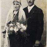 Ehepaar Hoffmann Georg und Maria geb. Mohr, ca. 1931