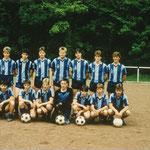 A-Jugend mit Trainer Alfred Zentner