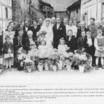 Hochzeit Stadler Harry mit Sophie geb. Hagenbucher und Verwandschaft aus Geinsheim und Eltville