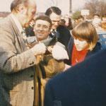Helmut Schön bei WM 1974