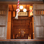木津十二神社の拝殿