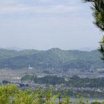 山寺山から西小千谷を望む