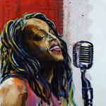 Cassandra Wilson, 135 x 145, verkauft