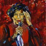 Ella Fitzgerald, 102 x 88 cm, verkauft