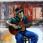 Tom Waits, 120 x 120, verkauft