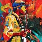 Jimmy Hendrix, 205 x 151 cm, verkauft