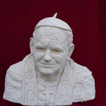 Euro 800,00 Papst Johannes Paul V.Das Portrait ist nach zahlreichen Fotos angefertigt worden, welches das Kirchenoberhaupt von verschiedenen Seiten her zeigte.