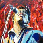 James Brown, 105 x 125 cm