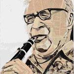 Benny Goodman, 100 x 70 cm
