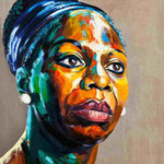 Nina Simone, 165 x 125 cm, verkauft