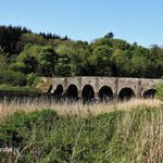 Ierland. Burrishoole Bridge, nabij Newport. 18e eeuw.