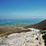 Ierland. Uitzicht over Clew Bay vanaf Croagh Patrick,