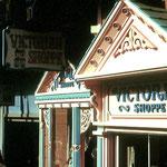 Die berühmten Holzfassaden