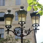 Typische Pariser Straßenlaterne