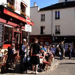 """Am """"Gipfel"""" des Montmartre unweit von Sacre Coeur"""