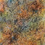 Surrealer Traum für Erlebnishungrige, 2014, Acryl auf Hi-Tech Polyprophylen, 70 x 50 cm