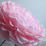 Création d'une rose géante en papier