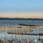 Hafen Sassnitz mit längster Außenmole Europas