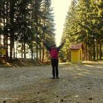 ....es ist geschafft, 14:28 nach insgesamt 08:05 Stunden, habe ich die Gemeinde Wenigzell umrundet. Das Leben ist schön....