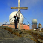 am Gipfel des Gr. Speikkogel 2140 m