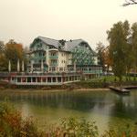 Die Seevilla, unser Hotel