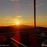 ...und das mit dem Sonnenaufgang da oben auf der Wildwiese....
