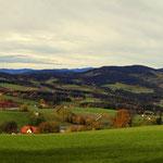 ein schöner Rundblick vom Masenberg bis Wenigzell (von links nach rechts)