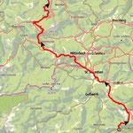 Meine Tour von Niederalpl bis Lackenhof am Ötscher