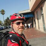 ...am alten Bahnhof in San Remo geht dieser tolle Radweg vorbei