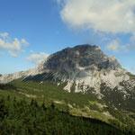 Brandstein 2003 m, ein einsamer Gipfel im Hochschwabmassiv