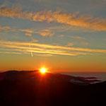 ...hat schon was so ein Sonnenaufgang, perfekt.....