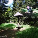 ...geschafft, der äußerste Punkt des Wanderweg 740 ist erreicht, der Buchecksattel....
