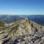mein Weg in Richtung Hochkogel, mein 2. Gipfel für heute